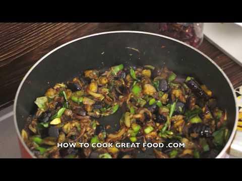 brinjal-fry-eggplant-dry-curry-recipe-aubergine-indian-food-vegan