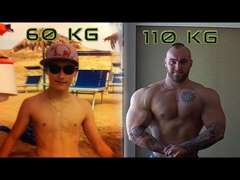 TESTO DIARIES - MY 50kg TRANSFORMATION