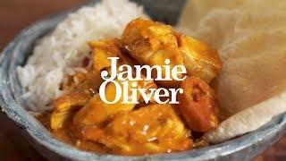 Простое и вкусное рыбное карри от Джейми Оливера (Русская озвучка)