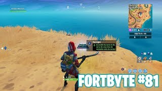 Fortnite Battle Royale ? Fortbyte Challenges How to get the Fortbyte #81