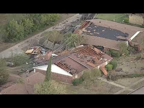Jeff K - Aerial Footage of War Zone Storm Damage In Dallas