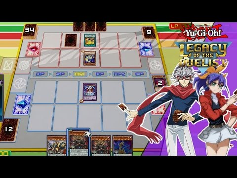 Yu-Gi-Oh Legacy of the Duelist | DLC Declan vs Céline