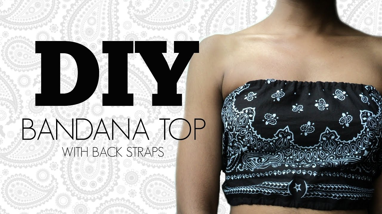 8201185d8d Summer DIY Bandana Top