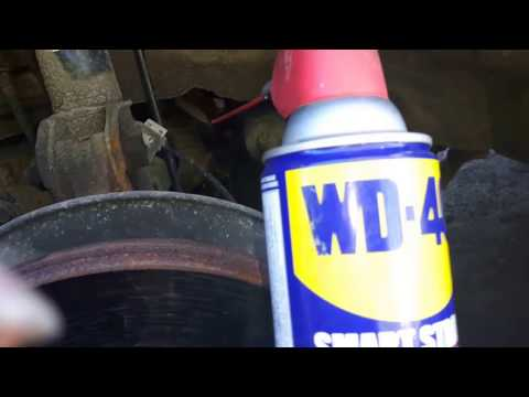 Part I: DIY WD40 / Silicone spray fix for noisy strut bearing or streering squeaks