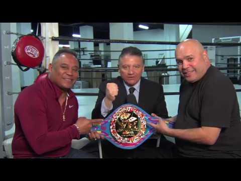 35 años después se reúnen en @NoPuedesJugarBoxeo Rubén Castillo y Juan Laporte