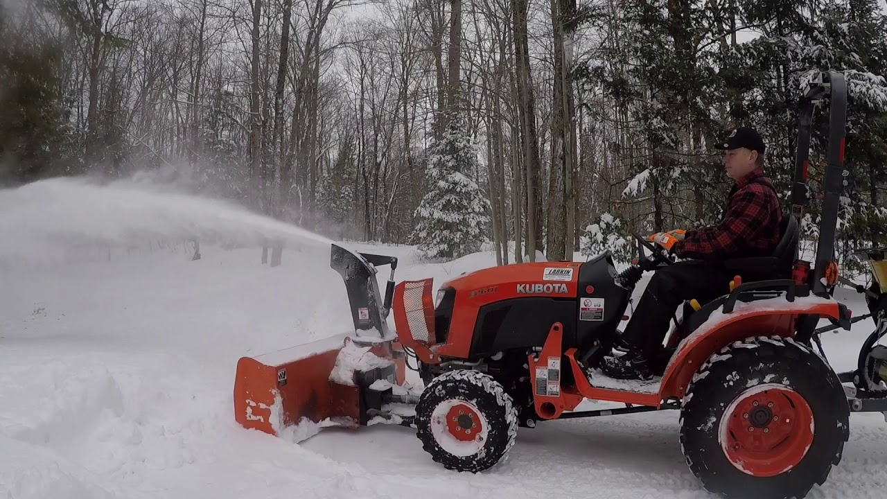 135 Kubota B Compact Tractor B B Front Mount