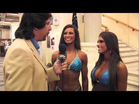 Artie Clear interviews Hope Davis and Lacey DeLuca at the 2012 IFBB/NPC Pittsburgh Championships