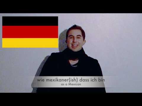 Mexican Speaks German