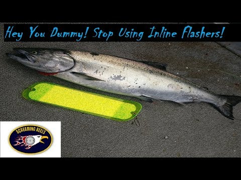 How To Use Dummy Flashers For Salmon
