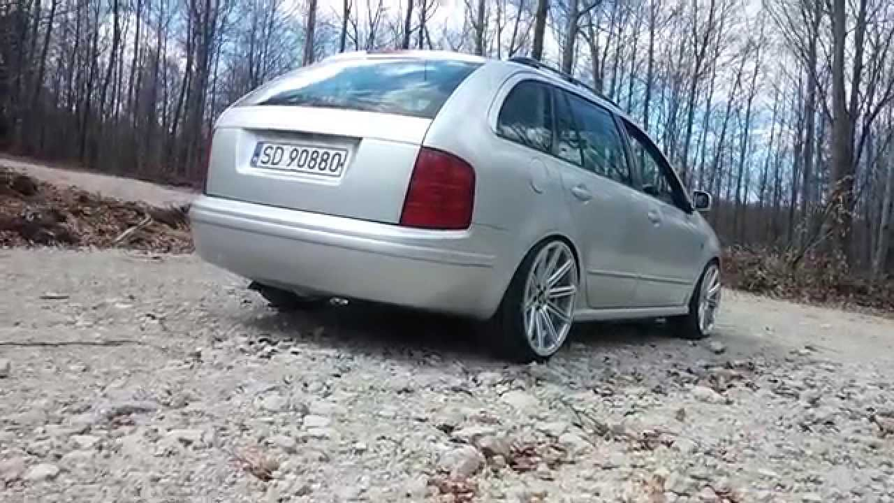 skoda fabia 1 9 sdi custom exhaust sound no cat stright pipe przelot tdi sdi youtube. Black Bedroom Furniture Sets. Home Design Ideas