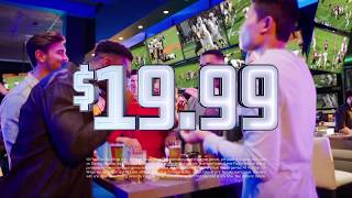 Dave & Buster's All You Can Eat Wings + Unlimited Games - $19.99