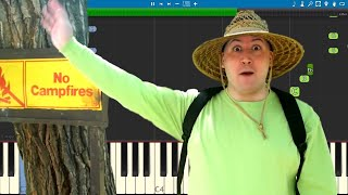Baldi's Field Trip : The Musical - Random Encounters - Piano Tutorial / Cover