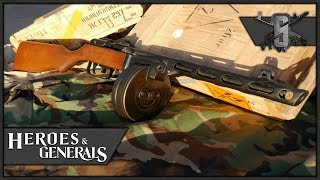 PPSH-41 GLORIOUS BARN DEFENSE - Heroes and Generals - Soviet SMG Gameplay