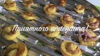 Запеченный картофель с салом | Как вкусно запечь картофель?