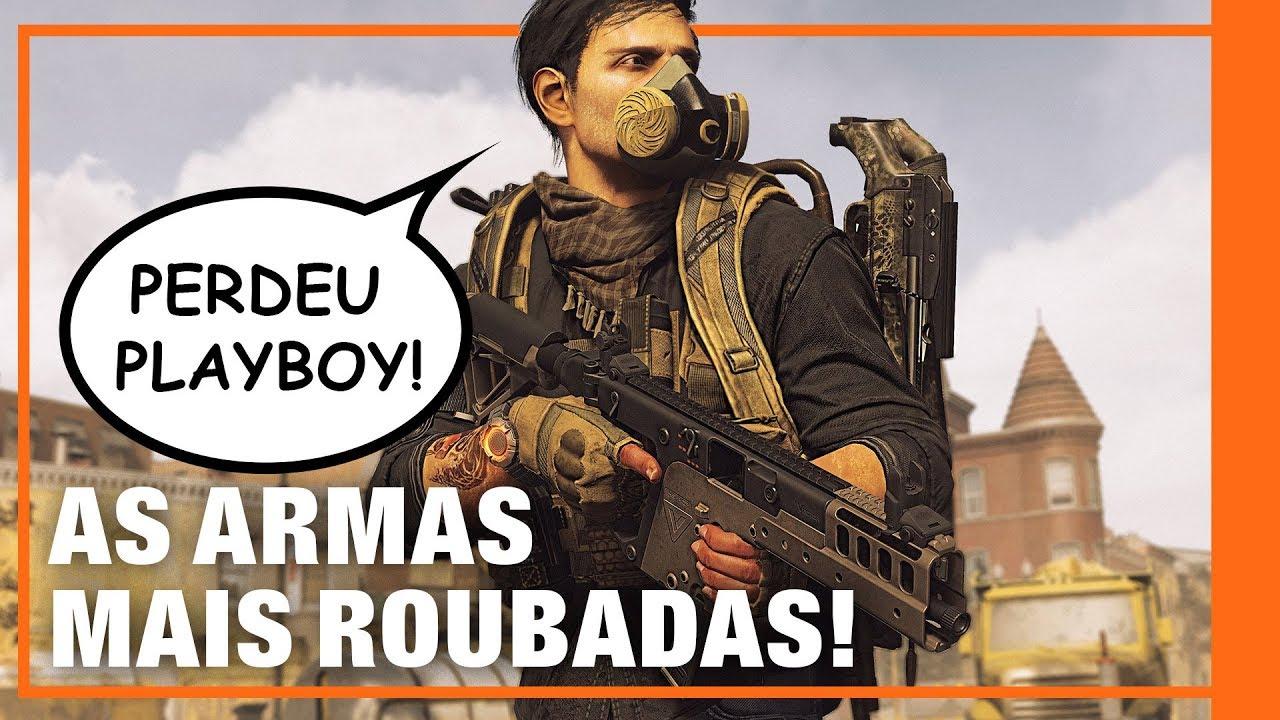 AS ARMAS MAIS FORTES DE THE DIVISION 2! EXÓTICAS! - Filipe Ramos Ensina!
