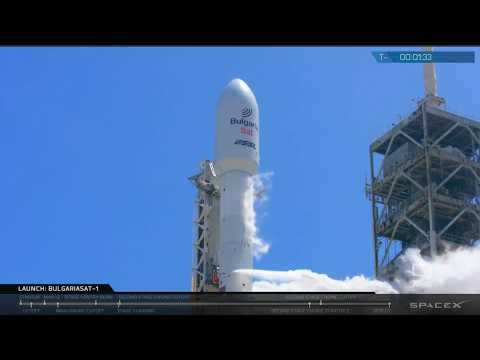 Liftoff - Space-X Falcon 9 - BulgariaSat 1 Communications Satellite - Live Mirror And Discussion