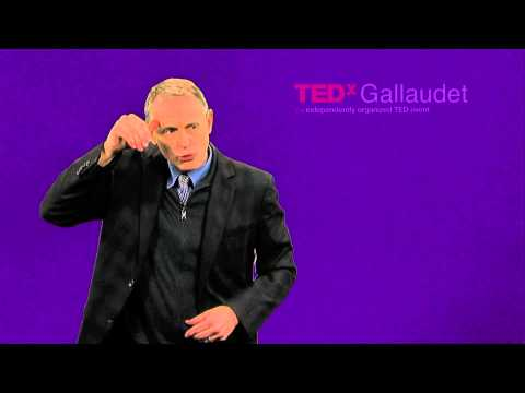 On Becoming Hearing: Lessons in Limitations, Loss, and Respect   Dirksen Bauman   TEDxGallaudet