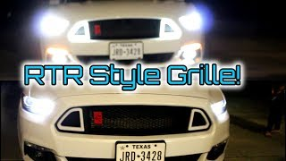 RTR Style Grille Install! - $150 For the Same Styling?