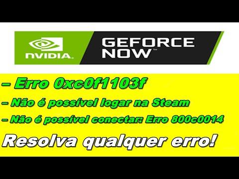 Geforce Now: CORRIJA Os PRINCIPAIS Erros (0xc0f5213e/Windows 7) Entre Outros!
