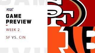 San Francisco 49ers vs. Cincinnati Bengals Week 2 NFL Game Preview
