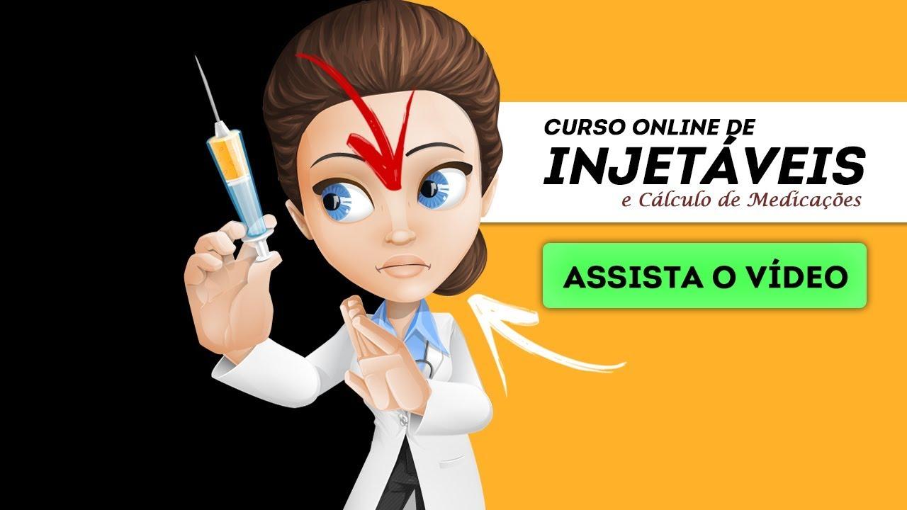 G1- Curso INJETÁVEIS E CÁLCULO DE MEDICAÇÕES