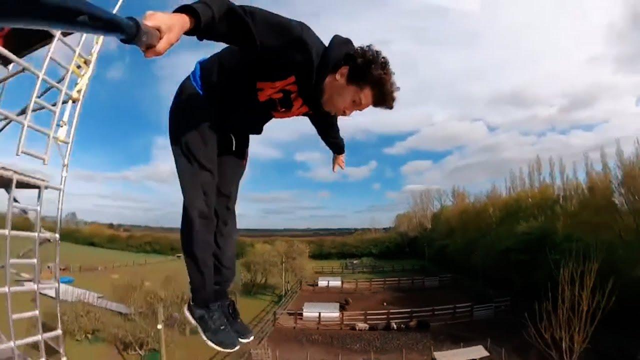 Epic Flips, Ladder Tricking, Parkour & More!   Best Of The Week