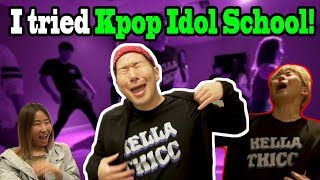 Download Qpark - Singing in Public Comedy - I trained at a K-Pop Idol School in New York City!! - (BTS Dance in Public)