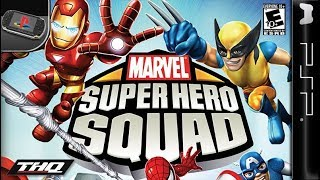 Longplay of Marvel Super Hero Squad
