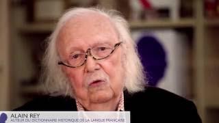 Video Le mot ROBERT raconté par Alain Rey - Nouvelle édition du Dictionnaire Historique download MP3, 3GP, MP4, WEBM, AVI, FLV November 2017
