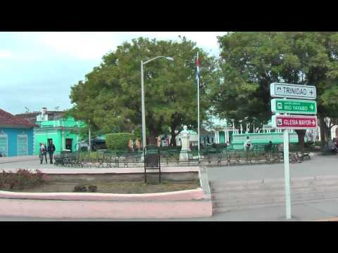 Cuban life in the streets of Sancti Spiritus Cuba