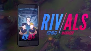 RIVALS Esports Manager Gameplay | Mobile | No Commentary