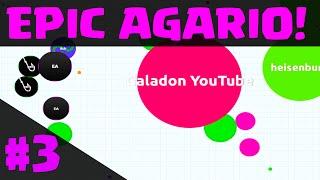 Agar.io - the EPIC Conclusion! AGARIO Part 3 of 3!