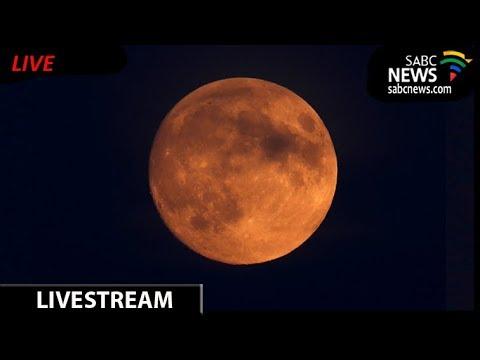 SABC News Lunar Eclipse Live Coverage