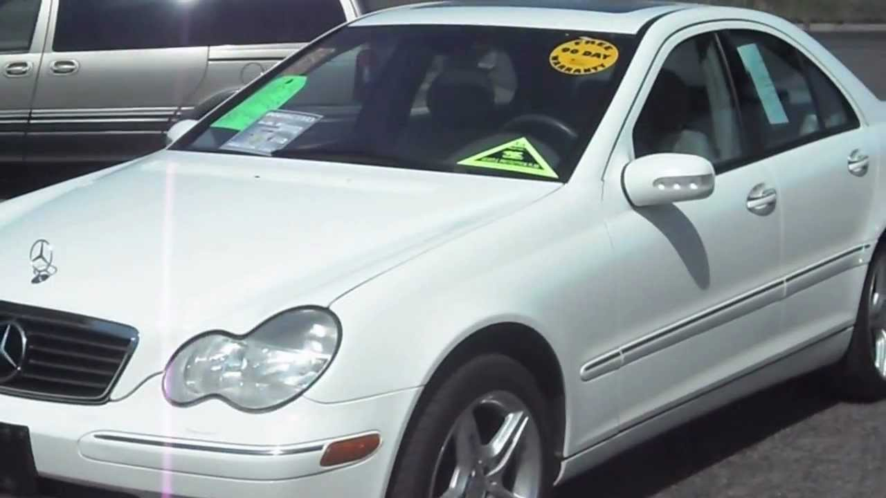 Nice 2003 MERCEDES BENZ C240, 4 Matic AWD, V6, CLEAN, Warranty!!!