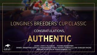 Vidéo de la course PMU LONGINES BREEDERS' CUP CLASSIC