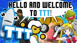EVERYONE TRIES THE INTRO to GMOD TTT!