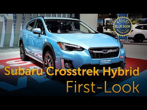 Subaru Crosstrek Hybrid - First Look