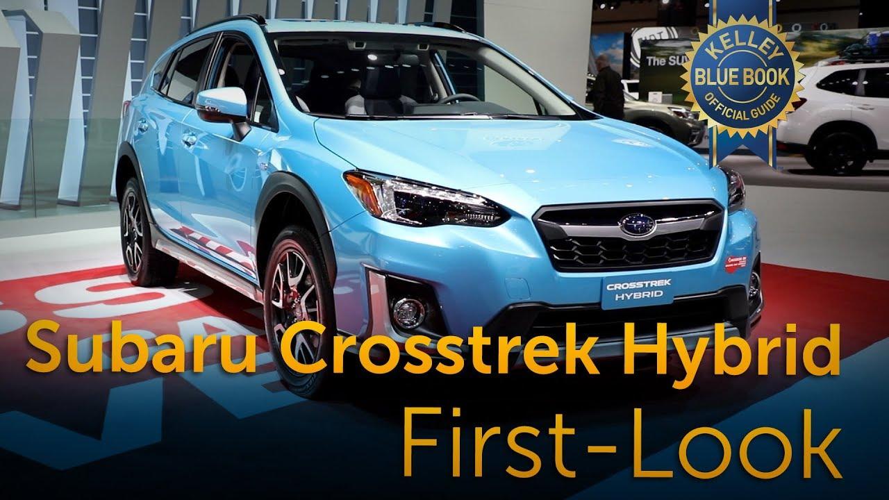2019 Subaru Crosstrek Hybrid First Look