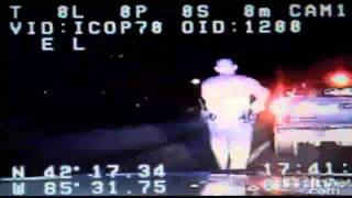 Video: Michigan Officer Survives Shooting Dashcam Video
