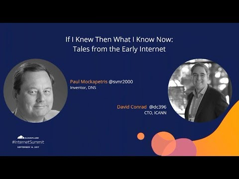 If I Knew Then What I Know Now: Tales from the Early Internet