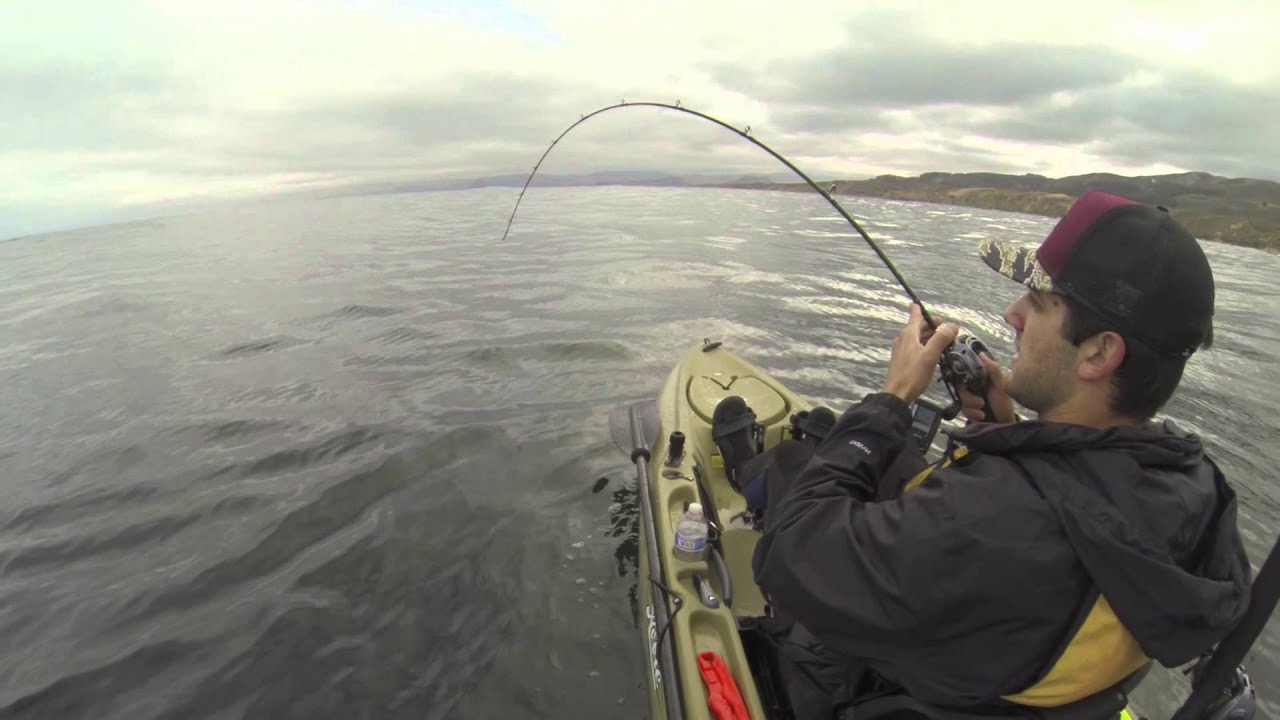 Central coast kayak fishing youtube for Central coast kayak fishing