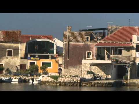 HD video Sailing Croatia Shibenik / Яхтинг по Хорватии Шибеник