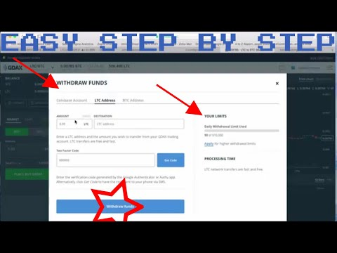 CHECK DESCRITION How to transfer BTC LTC IOTA ANY CRYPTO from Coinbase and GDAX 2018 2017 to Binance