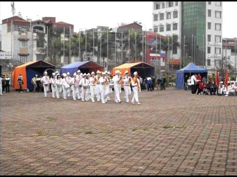 Đội Nghi lễ trường THCS Thăng Long - Hành tiến