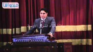بالفيديو : أبو هشيمة يتحدث عن مشوار نجاحه أمام طلاب جامعة القاهرة
