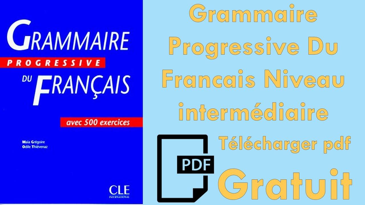 grammaire progressive du francais niveau debutant pdf free download