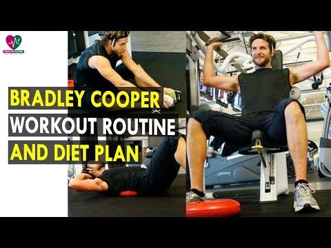 Bradley Cooper Workout Routine & Diet Plan || Health Sutra - Best Health Tips