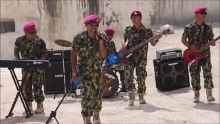 "Download Lagu Mars TNI ""Tinggalkan ayah tinggalkan ibu"" Gungho band TNI AL Yonif 1 Marinir mp3"