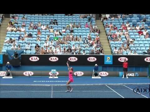Sara Errani V Silvia Soler-Espinosa Highlights (2R) - Australian Open 2015