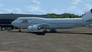 B747-400 東京国際空港(羽田)16:00発 函館空港行き【Live simulation】Tokyo Int'l to Hakodate airport